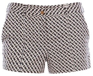 Diane von Furstenberg Mini/Short Shorts Black & White
