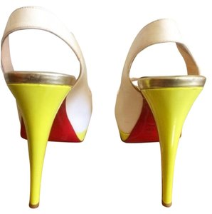 Christian Louboutin Cream Pumps
