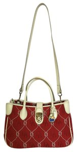 Dooney & Bourke Shoulder Crossbody Satchel in Red