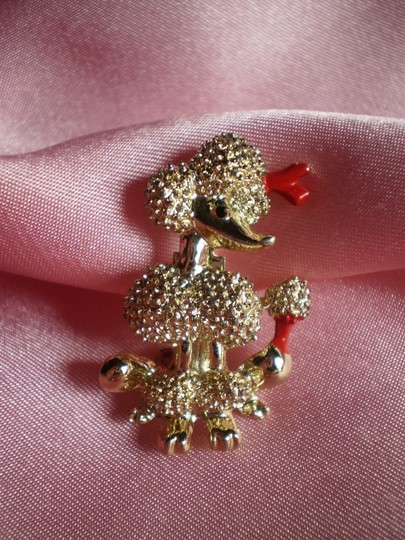 Other Vintage poodle pin brooch