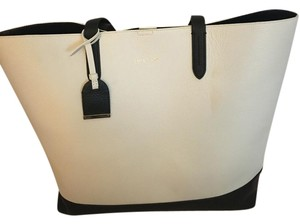 Cole Haan Tote in cream, blue