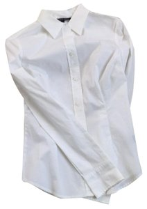 Victoria's Secret Button Down Shirt White