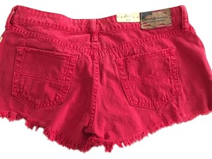 Denim & Supply Cut Off Shorts Red