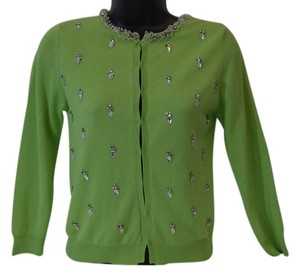 E V4 lime green Jacket