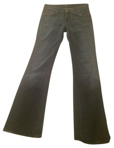 7 For All Mankind 28 Size 4 Flare Leg Jeans-Medium Wash
