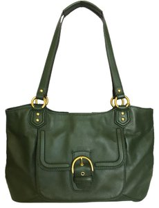 Coach Campbell Leather Belle Shoulder Bag