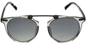 John Varvatos John Varvatos Soho Top Bar Polarized Sunglasses (Grey Crystal)