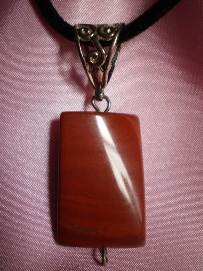 Other NEW Mahogany color w/silver bail necklace