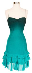 Rebecca Taylor Ombre Tiered Silk Summer Dress