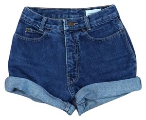 Calvin Klein Cuffed Shorts Blue