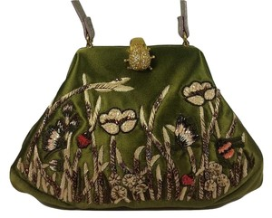 Valentino From Europe Not Sold In Usa Olive Clutch