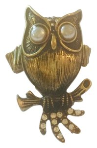 Owl Ring with Stretch Band