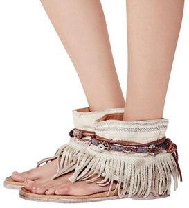 Free People Embellished Pearl Sandals
