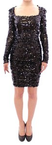 Dolce&Gabbana Sequin Bodycon Gown Dress