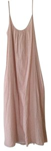 Dusty Rose Maxi Dress by Gap Scoop Back Midi Tall Cotton