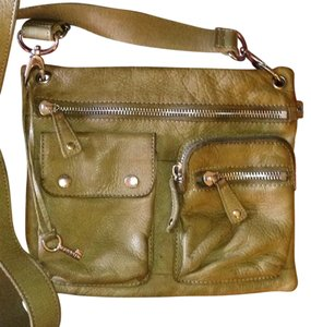 Fossil Olive Messenger Bag