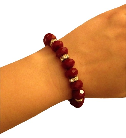Other Red Stone Crystal Accent Bracelet