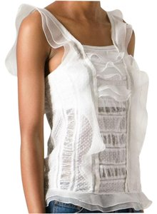 Isabel Marant Lace Silk Camisole New With Tag Top Ivory