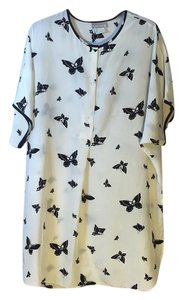 Natori ll Night Shirt short dress Black & White Sleep on Tradesy