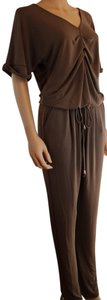 F.X Missony Jumpsuit Pleated Straight Leg Dress