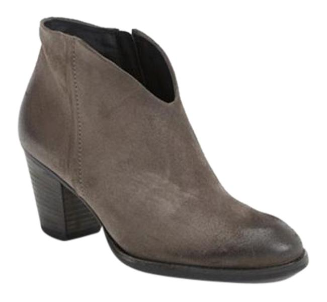 Item - Grey Suede 'delgado' Ankle Boots/Booties Size US 8 Regular (M, B)