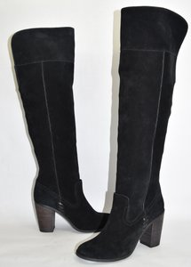 Dolce Vita Over The Knee Tall Boot BLACK SUEDE Boots