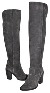 Dolce Vita Over The Knee Tall Boot GRAY SUEDE Boots