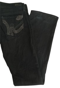 Citizens of Humanity Snake Embroidered Cool Edgy Straight Leg Jeans-Dark Rinse