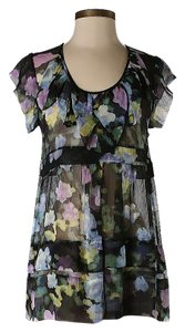Tracy Reese Silk Floral Top