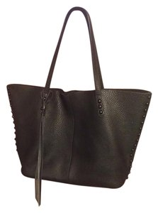 Rebecca Minkoff Leather Tote in Black