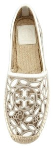 Tory Burch Rhea. Cement Ivory Espadrille ivory cement Flats