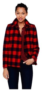 J.Crew Wool Red Buffalo Check Jacket
