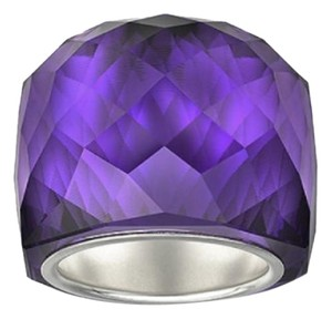 Swarovski SWAROVSKI NIRVANA PURPLE VELVET RING (SIZE58/ large) MIB #1166787, FREE SHIP
