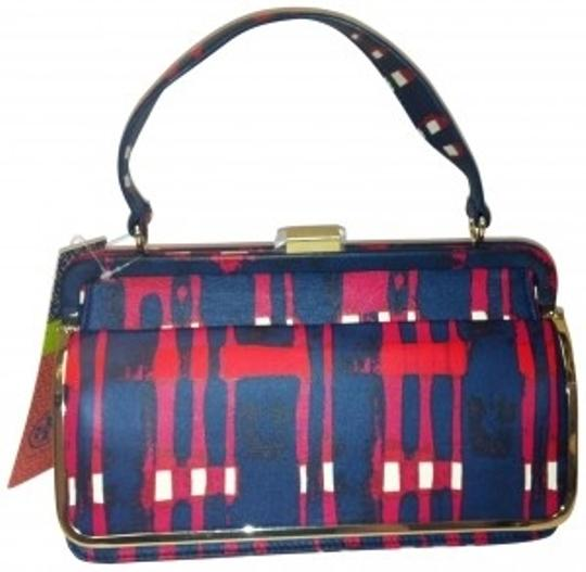 Preload https://item5.tradesy.com/images/tory-burch-plaid-red-blue-white-leather-satchel-177494-0-0.jpg?width=440&height=440