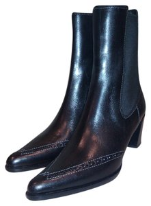 Derek Lam Ankle Boot Bootie Leather Black Boots