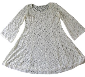 Anthropologie Solitaire Womens Lace Ravi Khosla Lace Dress