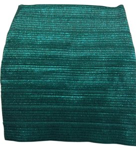 Forever 21 Mini Skirt Green