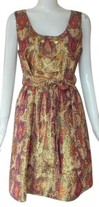 Marc by Marc Jacobs Brocade Sleeveless Hostess A-line Holiday Dress