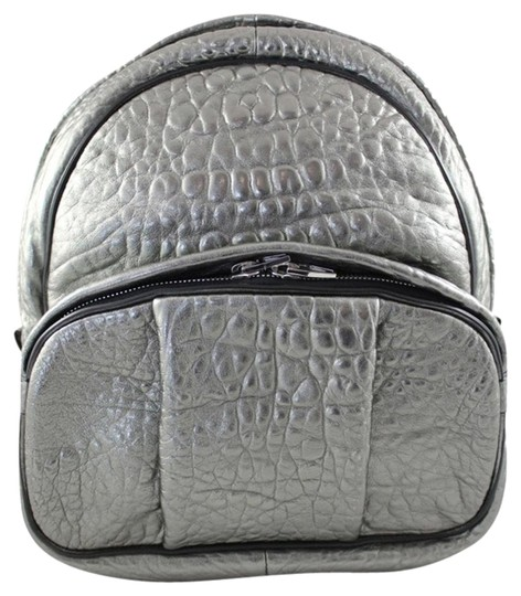 Preload https://item3.tradesy.com/images/alexander-wang-dumbo-silver-leather-backpack-1775037-0-1.jpg?width=440&height=440