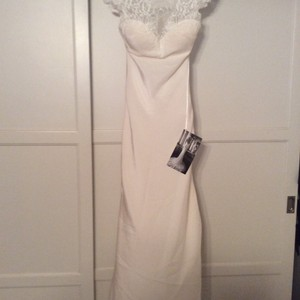 Martina Liana Ivory Silk 696 Feminine Wedding Dress Size 6 (S)