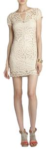 BCBGMAXAZRIA Lalinda Almond Balsam Dress