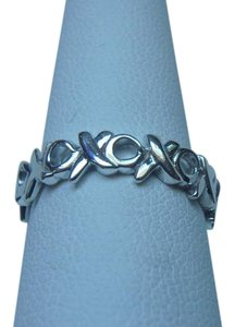 Tiffany & Co. Tiffany & Co. Paloma Picasso sterling silver Hugs & Kiss XO Ring size 5.5