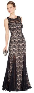 Betsy & Adam Full Length Evening Lace Dress