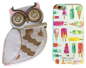 Kate Spade Kate Spade Painterly Wise Owl Coin Purse