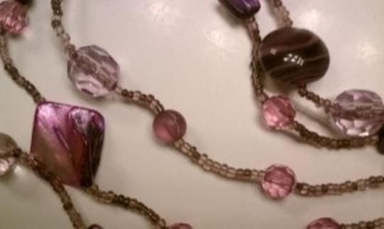New York & Company New York and Company Five Strand Beaded Necklace