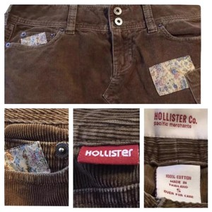 Hollister Mini Skirt Brown