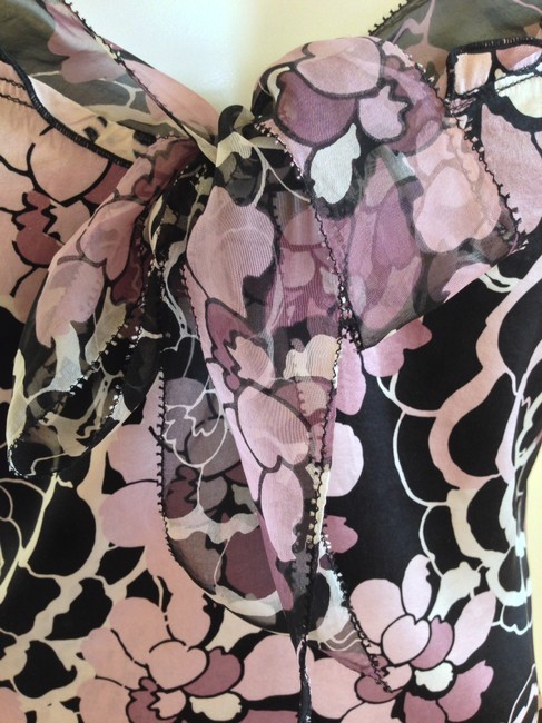 Elie Tahari ~ String ~ Silk ~ Floral ~ Top