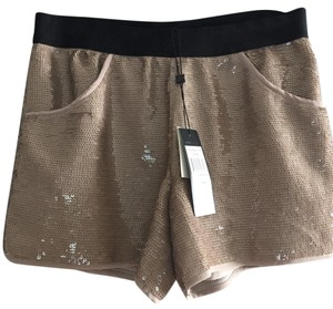 BCBGMAXAZRIA Mini/Short Shorts Gold