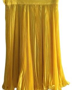 Emanuel Ungaro Mini Skirt Yellow