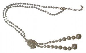 New York & Company New York & Company Knotted Pearl Necklace